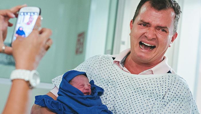 30 Imagens que mostram como a paternidade transforma a vida do homem