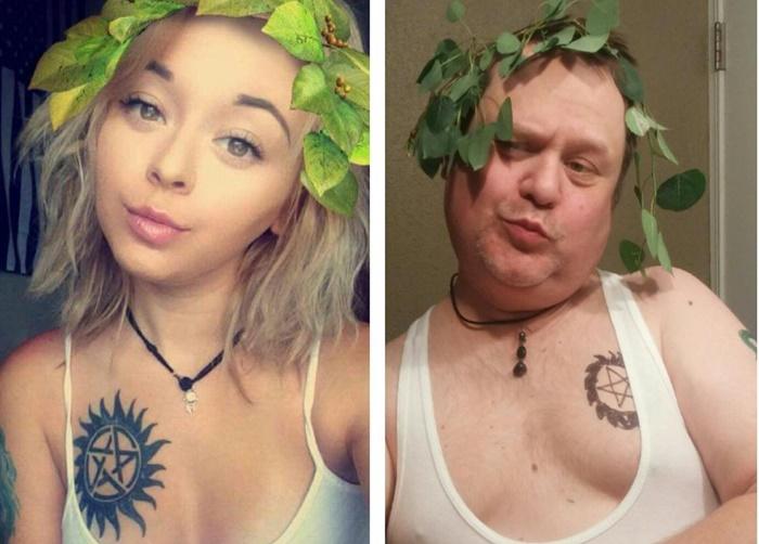 Pai refaz fotos sexies da filha no Instagram