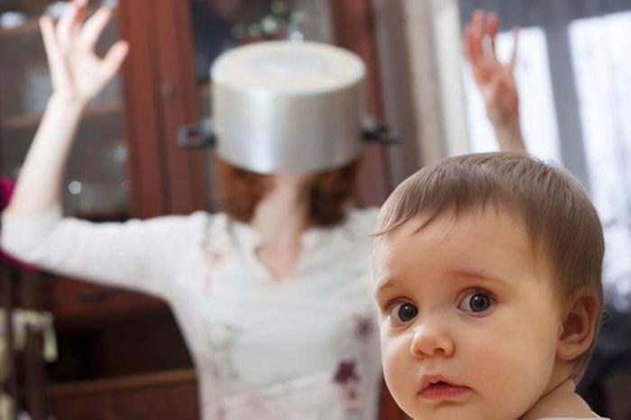 Cuidar dos filhos pode esgotar mais do que trabalhar