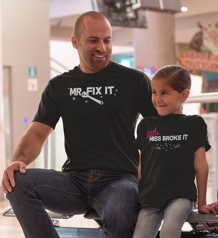 25 Camisetas Criativas E Geniais Para Pais E Filhos