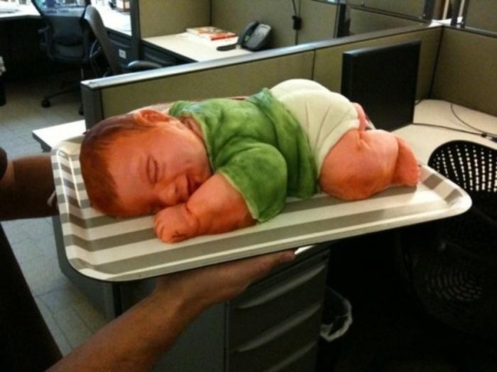 Bolos de Chá de Bebês