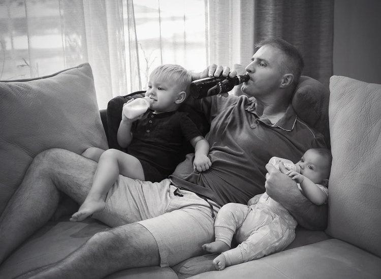 fotos paternidade real