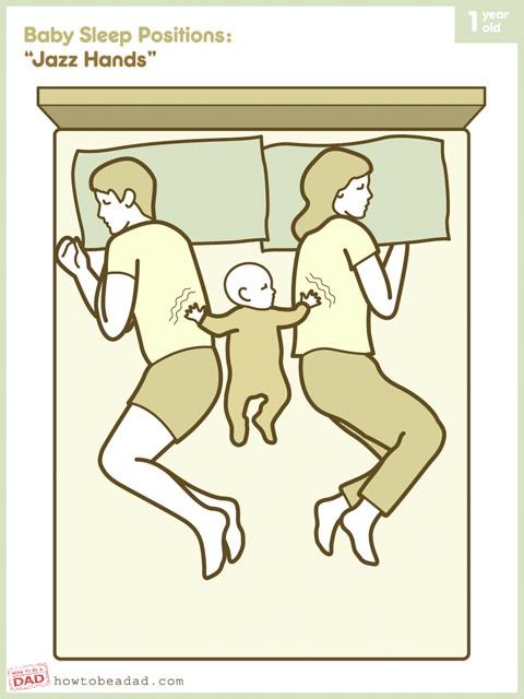 Como o bebê dorme